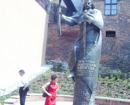 Pomnik Władysława Łokietka w Tarnowie